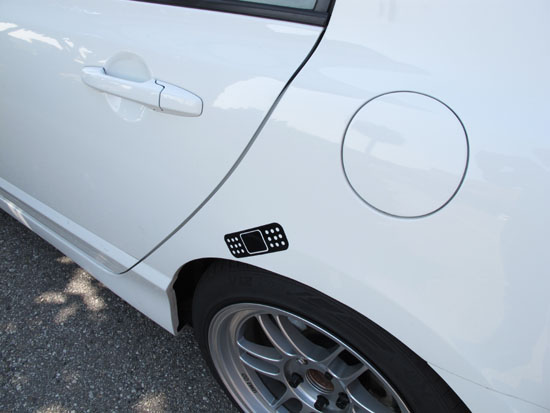 Jdm band aid car bumper dent scratch cover vinyl stickers by ijdmtoy