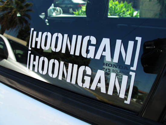 Window Stickers Jdm