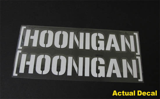 Hoonigan Urban Dictionary >> Cool JDM HOONIGAN Drifting Race Car Windows Bumper Decal Sticker