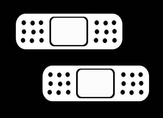 Cool jdm band aid bandaid car windows bumper vinyl stickers