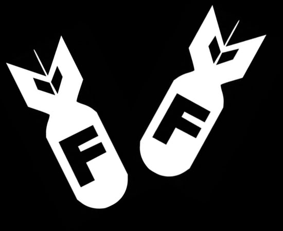 Cool JDM FBomb Fck Car Windows Bumper Vinyl Stickers - Cool decals for trucks