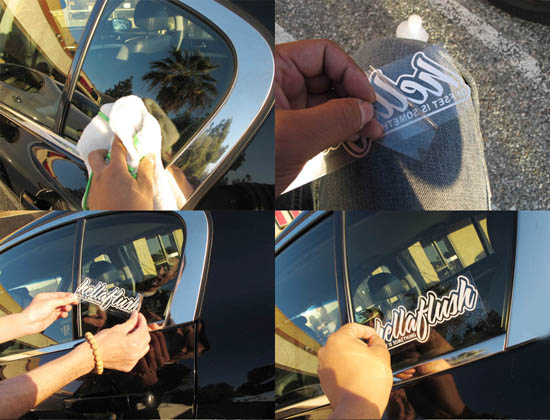 How to apply JDM Decals