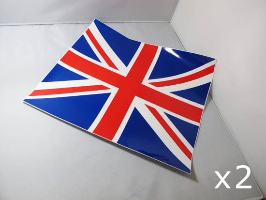 UK Union Jack Flag Pattern Vinyl Stickers For Mini Cooper Side Mirrors
