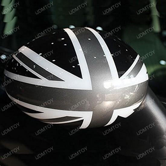UK Union Jack Flag Pattern Vinyl Stickers For Mini Cooper Side Mirrors