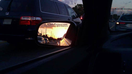 iJDMTOY.con Automotive Lighting Window Decal
