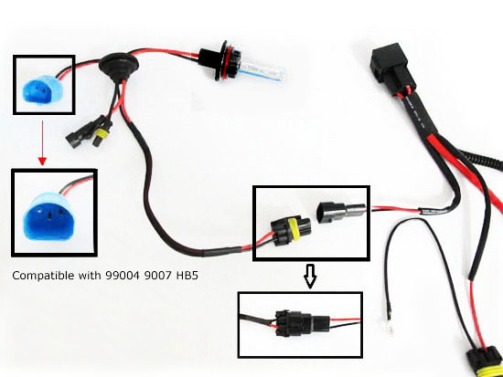 Hid relay harness diagram product wiring diagrams how to install hid conversion kit relay harness wiring rh store ijdmtoy com hid relay harness diagram 9006 relay for hid lights ccuart Choice Image