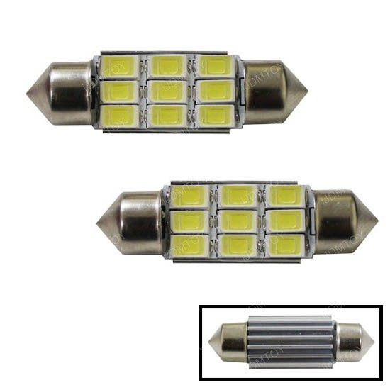 iJDMTOY 5730-SMD Festoon LED Bulbs