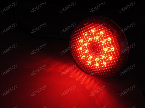 Toyota Sienna Scion Iq Xb Red Led Bumper Reflector Light