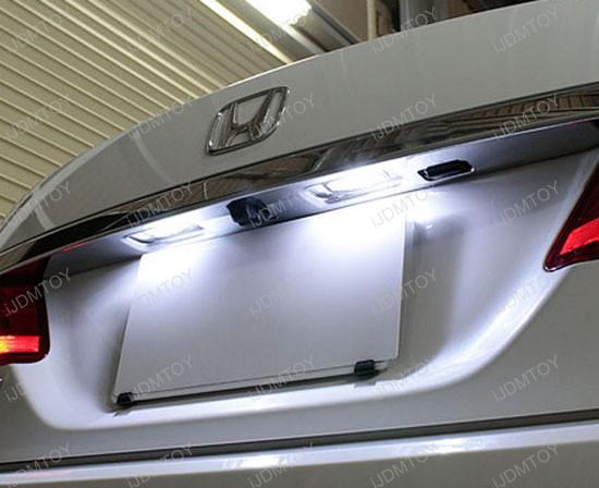 Honda Acura OEM Fit LED License Plate Lights