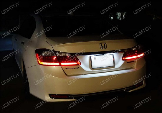 Direct Fit Acura TSX TL Honda Accord Civic LED License Plate Lights