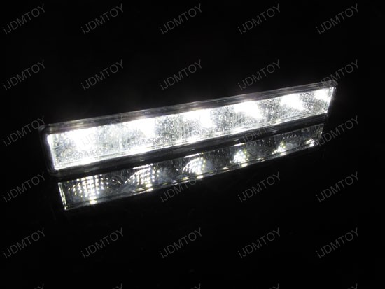 Amber White Switchback LED Daytime Running Lights