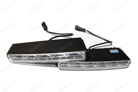 Hella LEDayLine Style 10-LED LED Daytime Running Light (DRL) Lamps