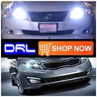 Shop the vehicle specific OEM fit LED daytime runing lights or LED DRL bulbs by vehicle here!