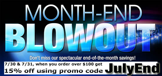 Month End Blowout Sale
