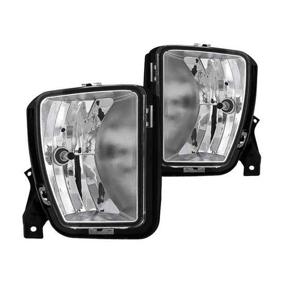 2013-2016 Dodge Ram 1500 Only Clear Housing Fog Lights