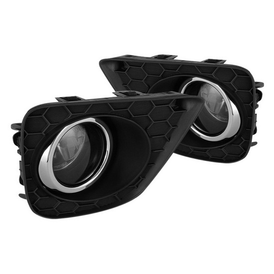 2013-2015 Honda Accord Coupe Smoke Housing OEM Fog Lights