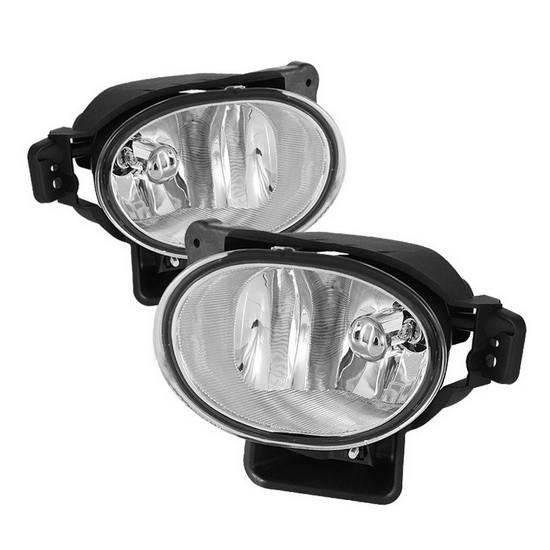 2007-2008 Acura TL Clear Housing OEM Style Fog Lights