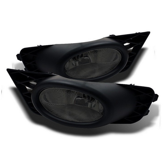 2009-2011 Honda Civic Sedan Smoke Housing OEM Style Fog Lights