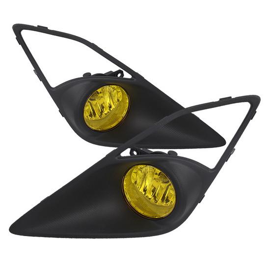 2013-2014 Scion FR-S Yellow Housing OEM Style Fog Lights