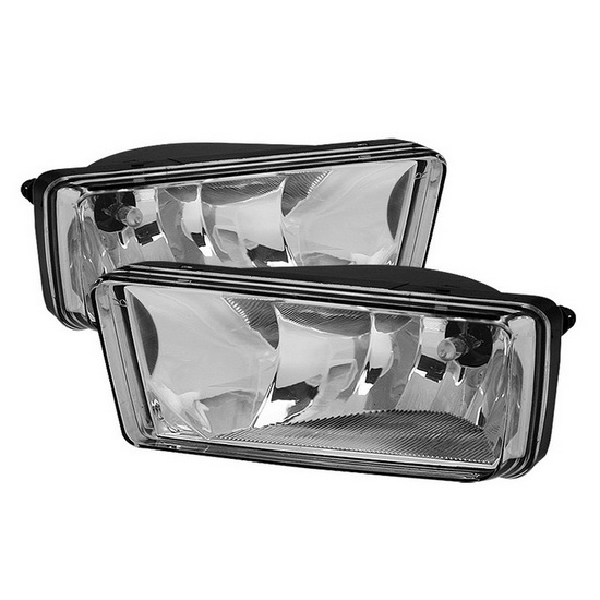 2007-2011 Chevrolet Silverado Avalanche Suburban Tahoe Clear Housing OEM Style Fog Lights
