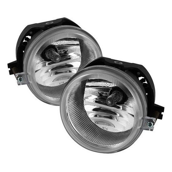 2006-2010 Dodge Charger Caliber Clear Housing OEM Style Fog Lights