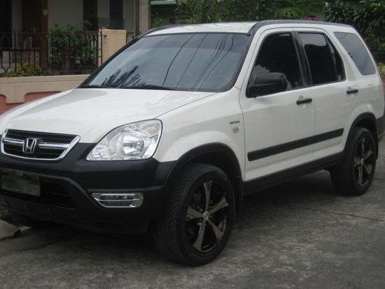 2002-2004 Honda CRV with Cover Chrome Housing OEM Style Fog Lights
