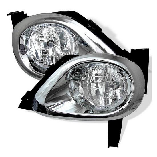 2005-2006 Honda CRV Clear Housing OEM Style Fog Lights