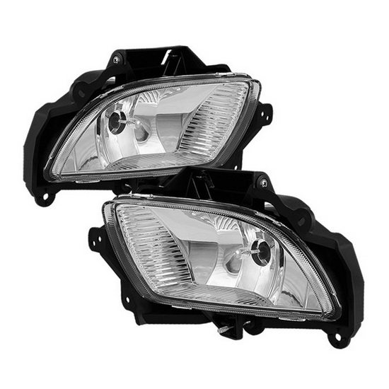 2009-2010 Hyundai Sonata Clear Housing OEM Style Fog Lights