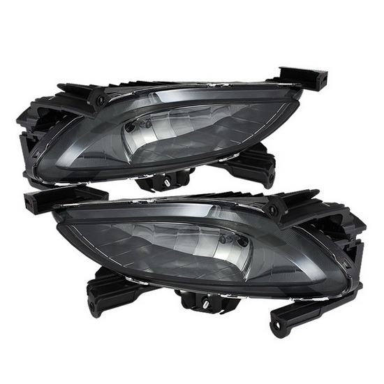 2011-2012 Hyundai Sonata Smoke Housing OEM Style Fog Lights