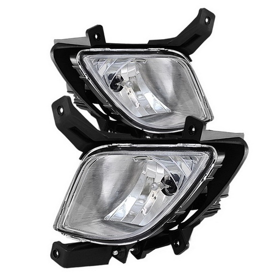 2010-2012 Hyundai Tucson Clear Housing OEM Style Fog Lights