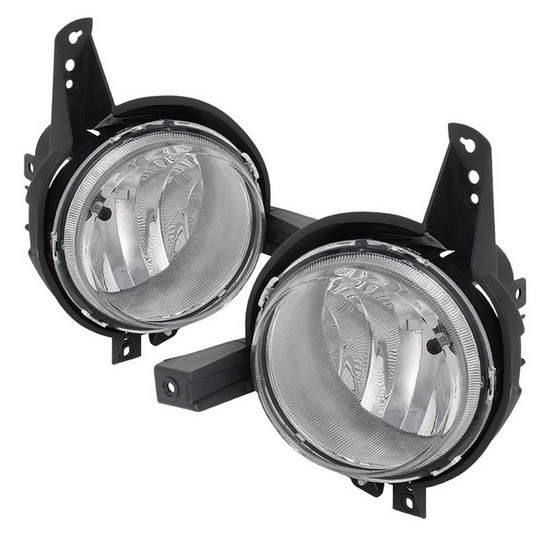 2012-2013 Kia Soul Clear Housing OEM Style Fog Lights