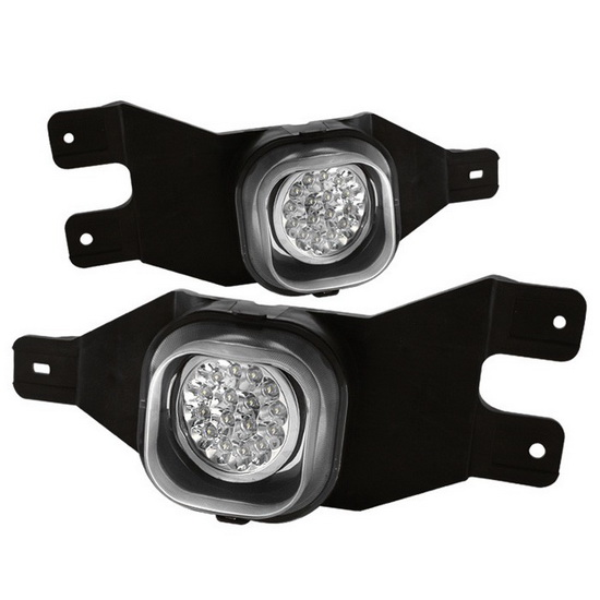 1999 04 Ford F250 F350 Ford Excursion Clear Led Fog Lights