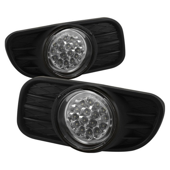 1999-2004 Jeep Grand Cherokee Clear Housing LED Fog Lights
