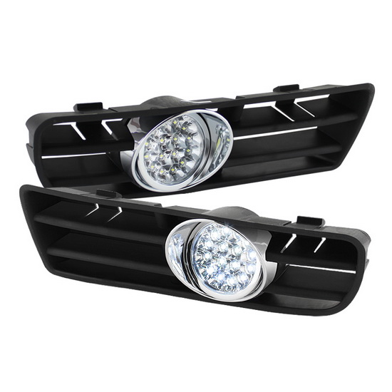 1999-2004 Volkswagen Golf GTI TDI Clear Housing LED Fog Lights