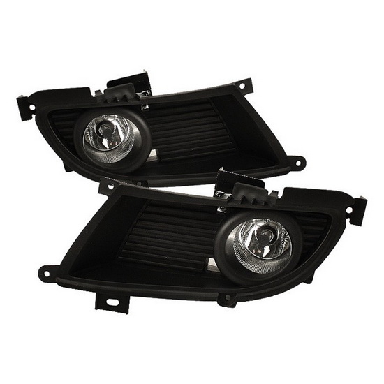 2004-2006 Mitsubishi Lancer Clear Housing OEM Style Fog Lights