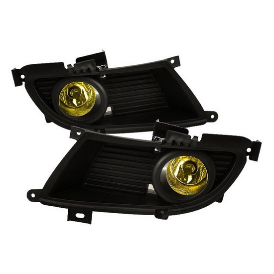 2004-2006 Mitsubishi Lancer Yellow Housing OEM Style Fog Lights