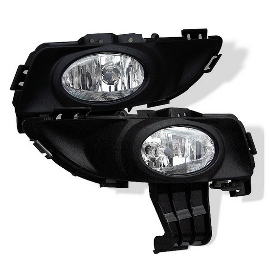 2003-2006 Mazda 3 Sedan Clear Housing OEM Style Fog Lights
