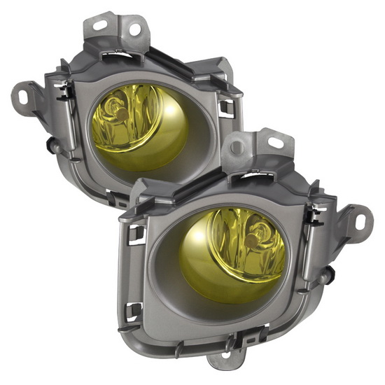 2010-2011 Toyota Prius Yellow Housing OEM Style Fog Lights