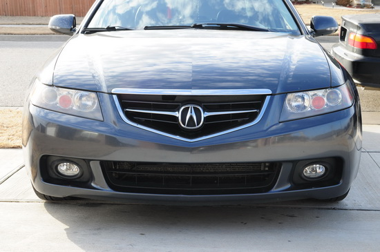 04 05 Acura Tsx Clear Housing Oem Style Fog Lights