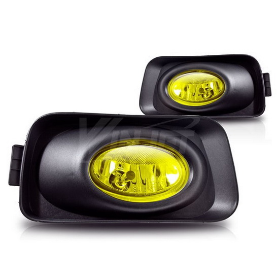 04 05 Acura Tsx Yellow Housing Oem Style Fog Lights