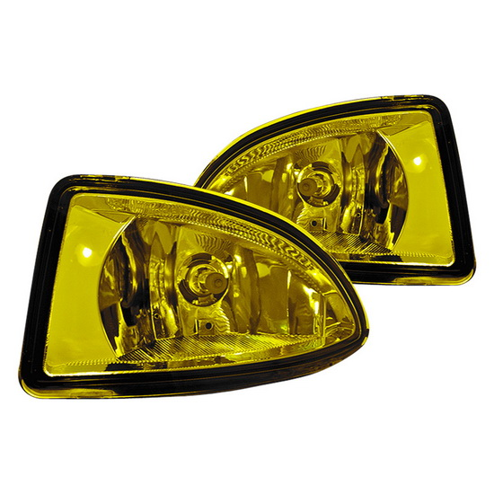 2004-2005 Honda CIVIC Yellow Housing OEM Fog Lights