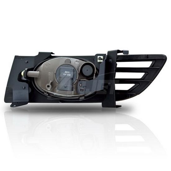 honda accord coupe oem style selective yellow lens fog lights fog. Black Bedroom Furniture Sets. Home Design Ideas