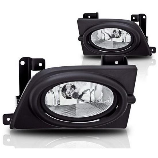 2006-2008 HONDA CIVIC SEDAN OEM Style Clear Lens Fog Lights Fog Lamps