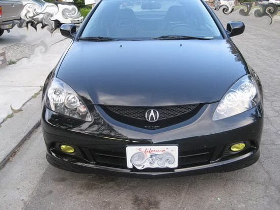 2006 acura rsx oem style selective yellow lens fog lights fog lamps. Black Bedroom Furniture Sets. Home Design Ideas