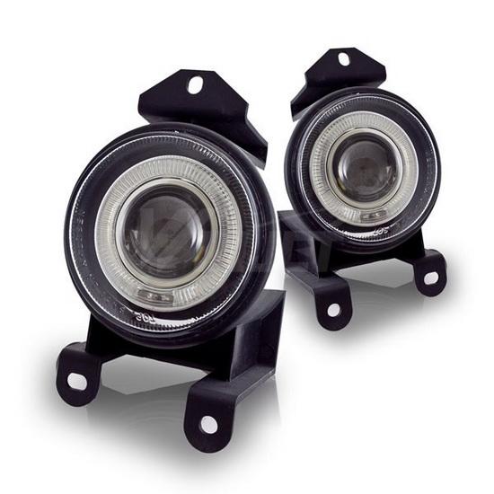 2000-2005 GMC YUKON OEM Style Clear Lens Fog Lights Fog Lamps