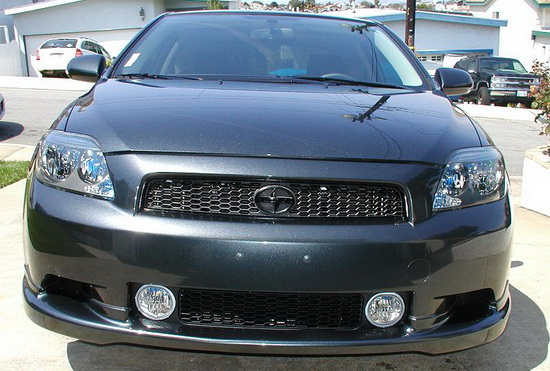 2005-2010 SCION TC WITH GRILL OEM Style Clear Lens Fog Lights Fog Lamps