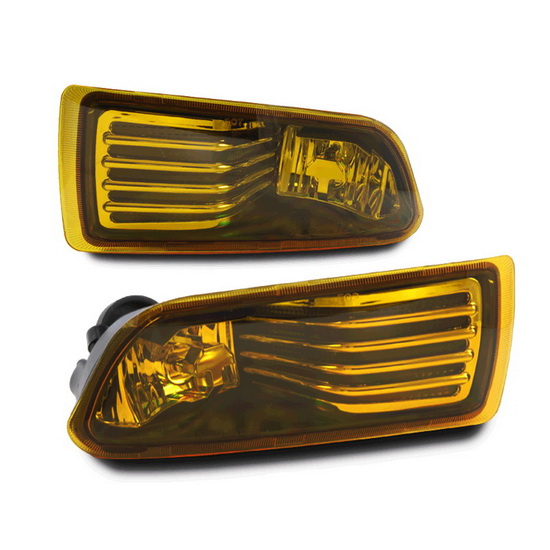 2005-2010 SCION TC OEM Style Selective Yellow Lens Fog Lights Fog Lamps