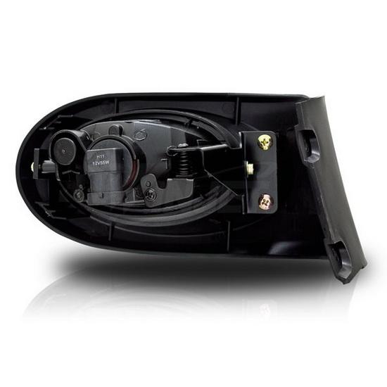 2002 2004 acura rsx oem style clear lens fog lights fog lamps. Black Bedroom Furniture Sets. Home Design Ideas