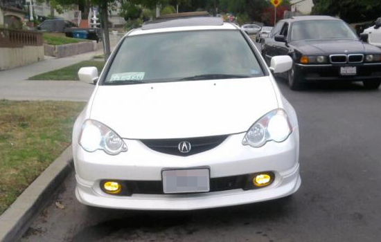 WJ30 0099 12 1 02 04 acura rsx yellow housing oem style fog lights rsx fog light wiring harness at bayanpartner.co