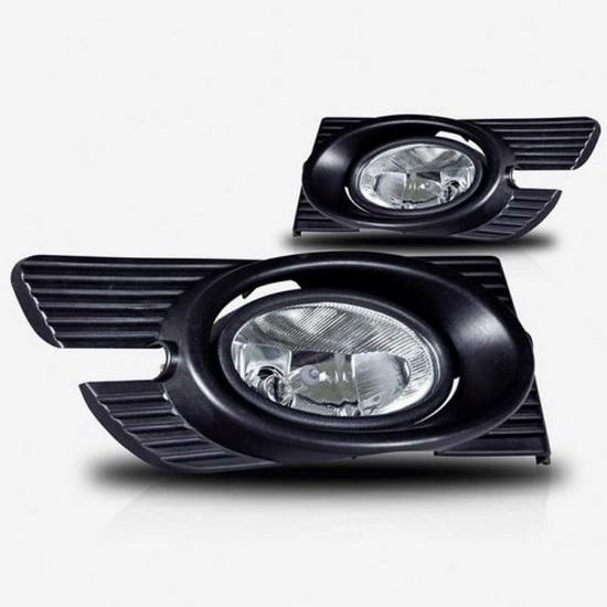 1998-2002 HONDA ACCORD SEDAN OEM Style Clear Lens Fog Lights Fog Lamps